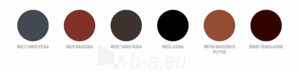 Apvalus kraigas Ruukki® 40 (Finnera, Finnera Plus profilio skardai) Paveikslėlis 2 iš 2 310820026595