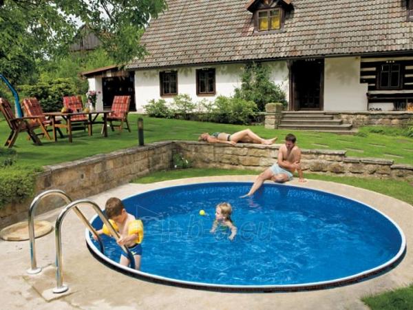Round outdoor pool DeLuxe 400DL Paveikslėlis 1 iš 2 30092300001