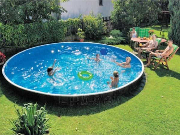 Round outdoor pool DeLuxe 400DL Paveikslėlis 2 iš 2 30092300001