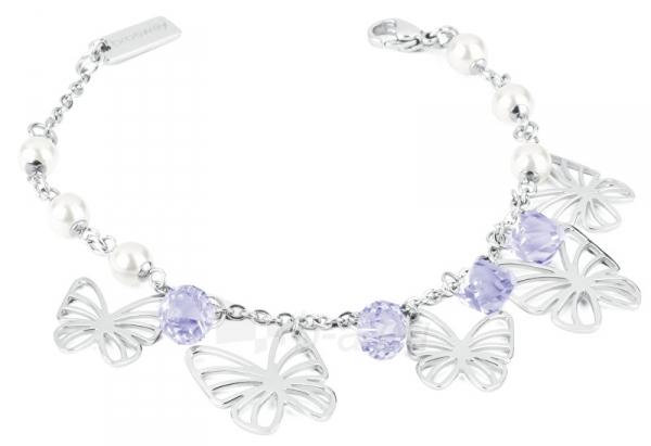 Apyrankė Brosway Steel bracelet with butterflies Charmant BCM11 Paveikslėlis 1 iš 2 310820173547
