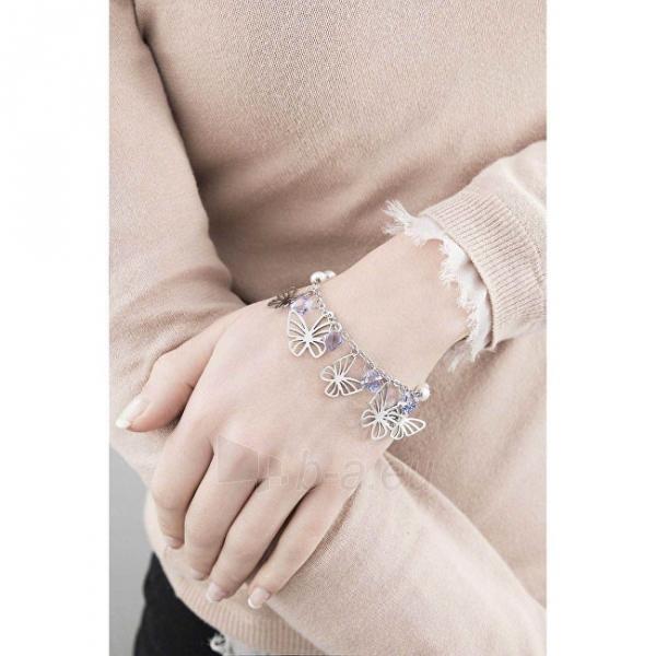 Apyrankė Brosway Steel bracelet with butterflies Charmant BCM11 Paveikslėlis 2 iš 2 310820173547