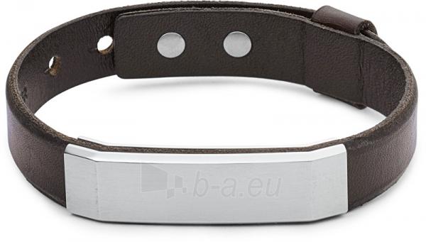 Apyrankė Fossil Men´s leather bracelet JF02363040 Paveikslėlis 1 iš 1 310820126314