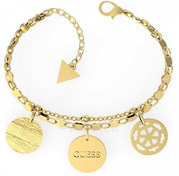 Apyrankė Guess Gold plated with three pendants UBB29111-S Paveikslėlis 1 iš 1 310820208196
