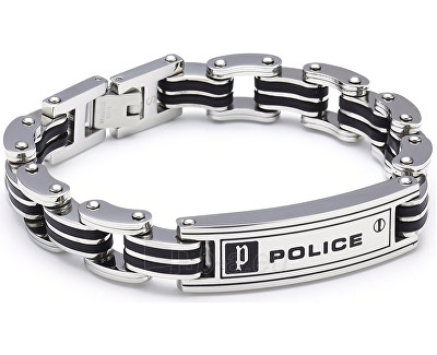 Apyrankė Police Apyrankė Carb PJ24919BSB/01 (Ilgis: 21 cm) Paveikslėlis 1 iš 1 30070102121