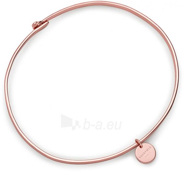 Apyrankė Rosefield Solid Wooster Bronze Bracelet JWORM-J017 Paveikslėlis 2 iš 4 310820126978