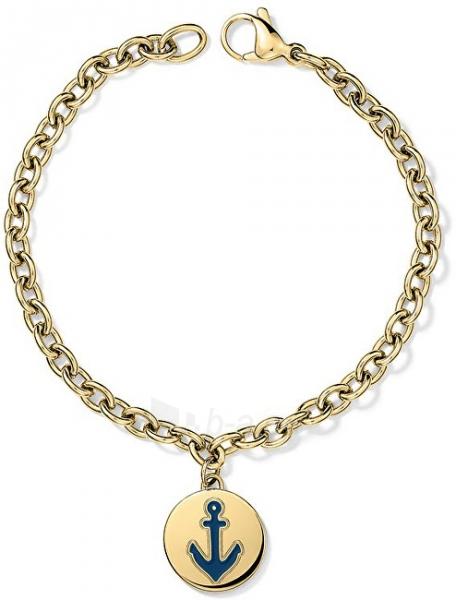 Apyrankė Tommy Hilfiger Plated steel bracelet with anchor TH2700930 Paveikslėlis 1 iš 2 310820125547