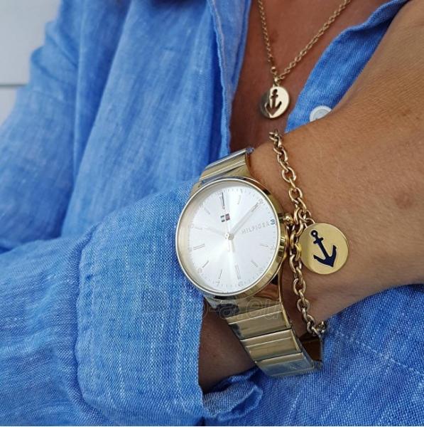Apyrankė Tommy Hilfiger Plated steel bracelet with anchor TH2700930 Paveikslėlis 2 iš 2 310820125547