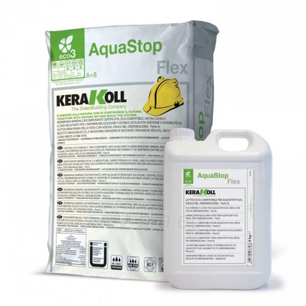 Hidroizoliacija elastinga Aquastop Flex, 32 kg (A+B) Paveikslėlis 1 iš 1 310820037108