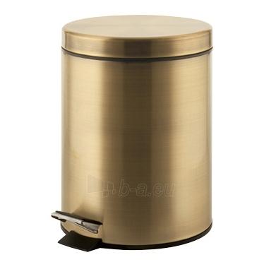 ARGENTA šiūkšliadėžė su pamina, bronzinė Paveikslėlis 1 iš 1 271531000058