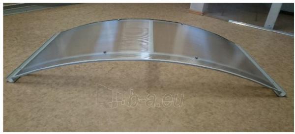 Arkinis durų stogelis RODEO 150x70x20 cm. Rudas rėmas. Paveikslėlis 2 iš 4 310820044075