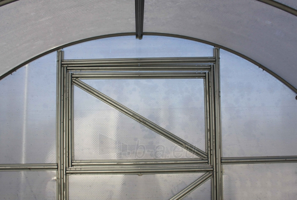 Šiltnamis PREMIUM Plius (12 m2) 3x4 su 6mm PK danga . Paveikslėlis 5 iš 14 238700000127