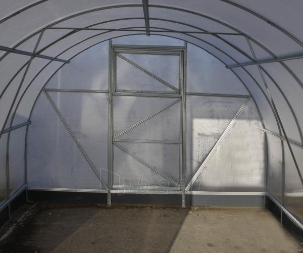 Šiltnamis PREMIUM Plius (12 m2) 3x4 su 6mm PK danga . Paveikslėlis 14 iš 14 238700000127