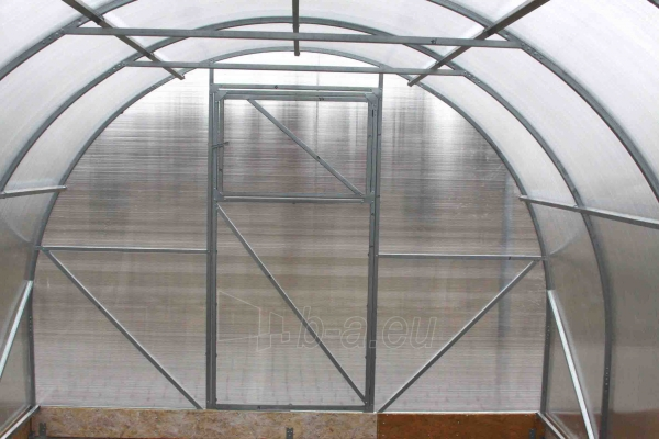 Šiltnamis PREMIUM Plius (12 m2) 3x4 su 4mm PK danga Paveikslėlis 1 iš 6 238700000130