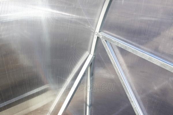 Šiltnamis PREMIUM Plius (12 m2) 3x4 su 4mm PK danga Paveikslėlis 2 iš 6 238700000130