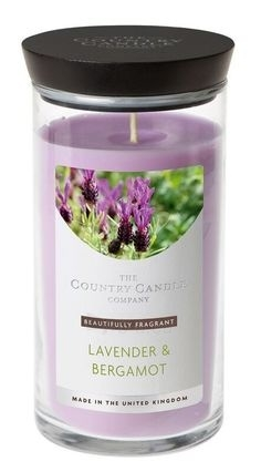 Aromatinė žvakė Country Candle Scented candle in a glass ampoule (Amber & Lavender) 630 g Paveikslėlis 1 iš 1 310820122140
