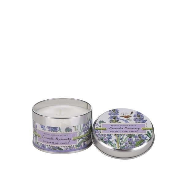 Aromatinė žvakė Michel Design Works Natural Candle In Levander Rosemary Soy Wax Travel