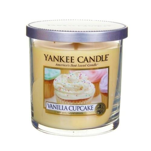 Aromatinė žvakė Yankee Candle Fragrant candle Décor small (Vanilla Cupcake) 198 g Paveikslėlis 1 iš 1 310820127839