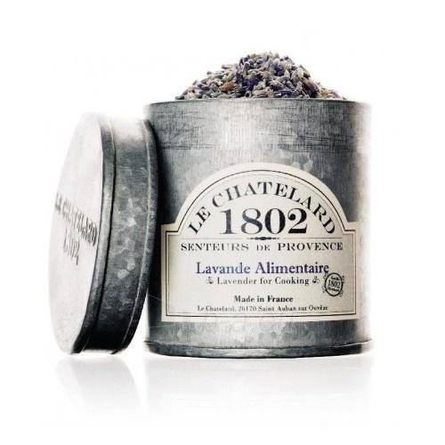 Aromatizatorius Le Chatelard Dried lavender flowers in a zinc box of 300 ml Paveikslėlis 1 iš 1 310820122164
