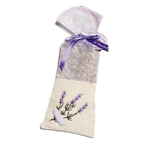 Aromatizatorius Le Chatelard Linen-organza bag with embroidery filled with dried lavender 50 g Paveikslėlis 1 iš 1 310820122076