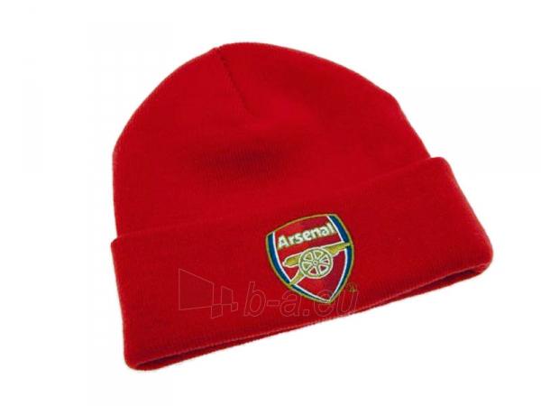 Arsenal F.C. atlenkta žieminė kepurė (Raudona) Paveikslėlis 1 iš 1 251009000094