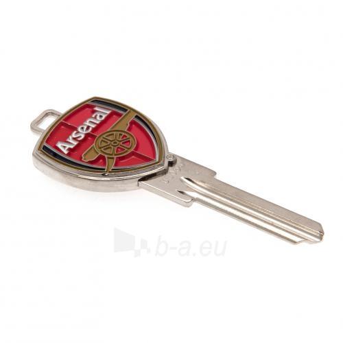 Arsenal F.C. durų rakto ruošinys 3D Paveikslėlis 1 iš 4 251009000098