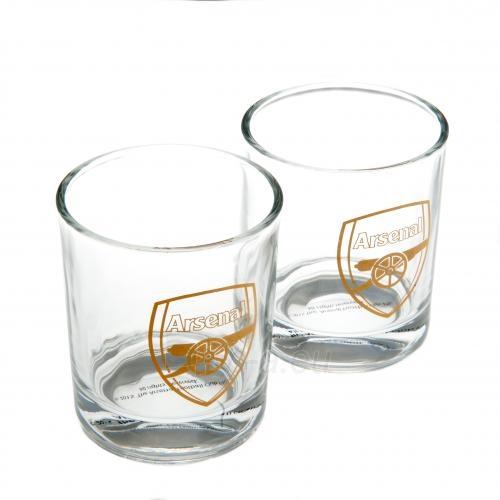 Arsenal F.C. dviejų viskio stiklinių rinkinys Paveikslėlis 1 iš 4 251009001371