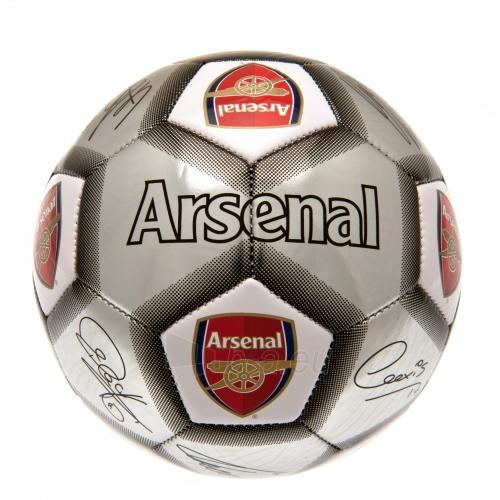 Arsenal F.C. futbolo kamuolys (Autografai. Pilkas) Paveikslėlis 3 iš 4 310820042386