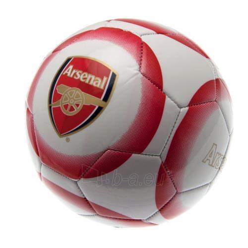 Arsenal F.C. futbolo kamuolys (Baltas-raudonas) Paveikslėlis 2 iš 4 251009001178