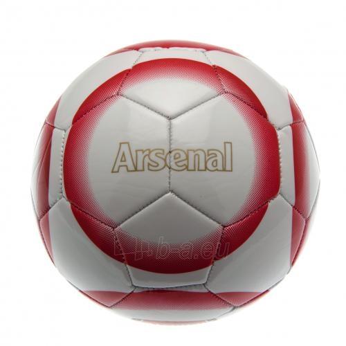 Arsenal F.C. futbolo kamuolys (Baltas-raudonas) Paveikslėlis 3 iš 4 251009001178