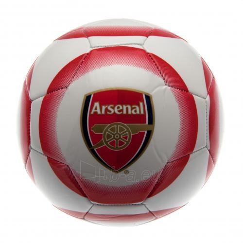 Arsenal F.C. futbolo kamuolys (Baltas-raudonas) Paveikslėlis 4 iš 4 251009001178