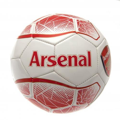 Arsenal F.C. futbolo kamuolys (Baltas/raudonas) Paveikslėlis 3 iš 4 310820042385
