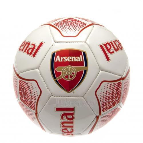 Arsenal F.C. futbolo kamuolys (Baltas/raudonas) Paveikslėlis 4 iš 4 310820042385
