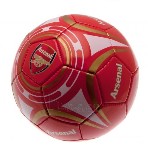 Arsenal F.C. futbolo kamuolys (Raudonas-baltas) Paveikslėlis 1 iš 4 310820024968