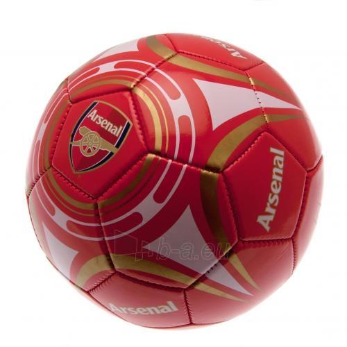 Arsenal F.C. futbolo kamuolys (Raudonas-baltas) Paveikslėlis 2 iš 4 310820024968