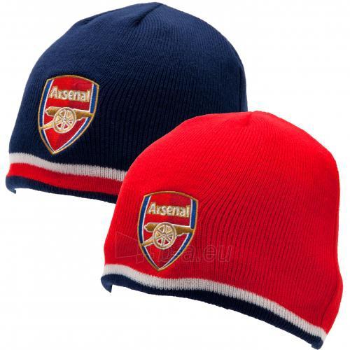 Arsenal F.C. išverčiama dvipusė žieminė kepurė Paveikslėlis 1 iš 6 251009000108