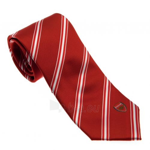 Arsenal F.C. kaklaraištis (Raudonas dryžuotas) Paveikslėlis 1 iš 4 251009001037