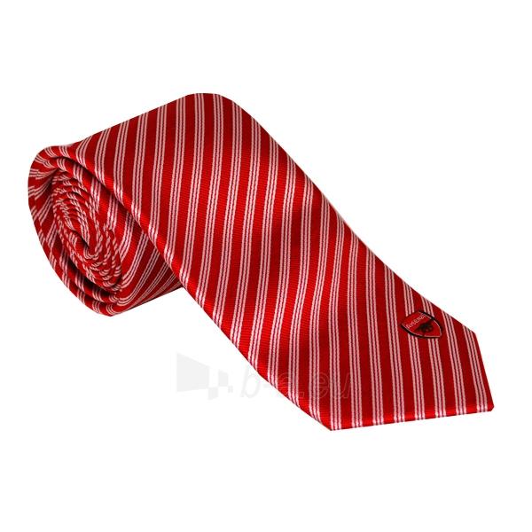 Arsenal F.C. kaklaraištis (Raudonas su baltom juostelėm) Paveikslėlis 1 iš 2 251009001373