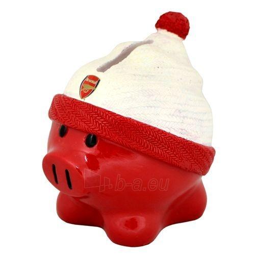 Arsenal F.C. kiaulė taupyklė (su kepure) Paveikslėlis 1 iš 2 251009000124