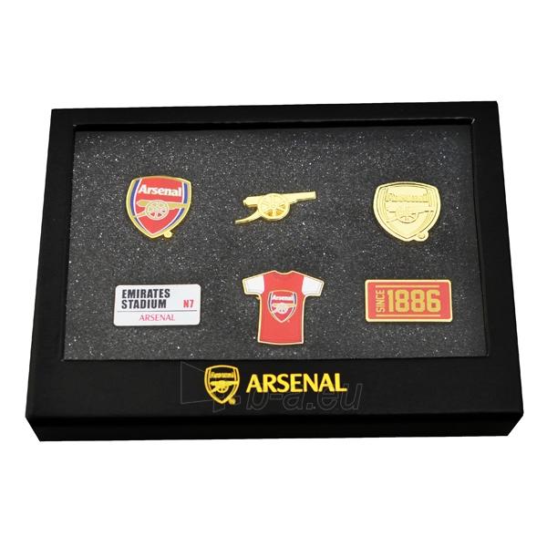 Arsenal F.C. prisegamų ženklelių rinkinys Paveikslėlis 1 iš 2 251009001375