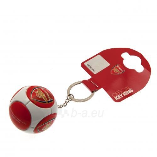 Arsenal F.C. raktų pakabukas (Futbolo kamuolys) Paveikslėlis 4 iš 4 310820045825