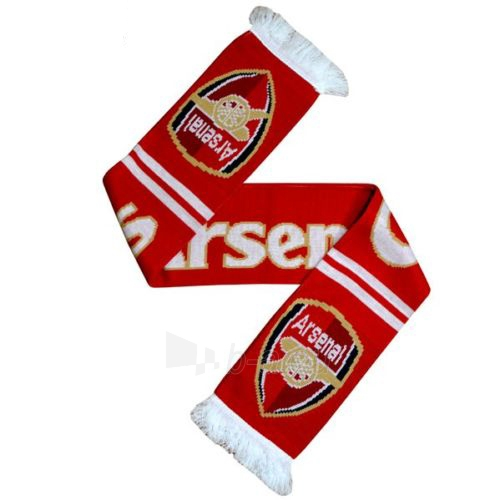 Arsenal F.C. šalikas (Logotipas) Paveikslėlis 1 iš 3 251009001201