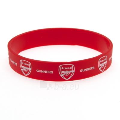 Arsenal F.C. silikoninė apyrankė Paveikslėlis 3 iš 3 251009000269