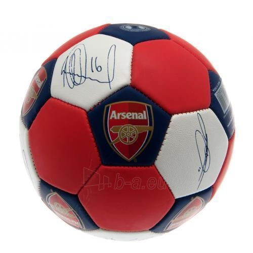 Arsenal F.C. treniruočių kamuolys (Nuskin) Paveikslėlis 4 iš 4 251009001376