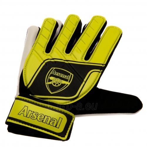Arsenal F.C. vaikiškos vartininko pirštinės (Geltonos) Paveikslėlis 3 iš 4 251009001048