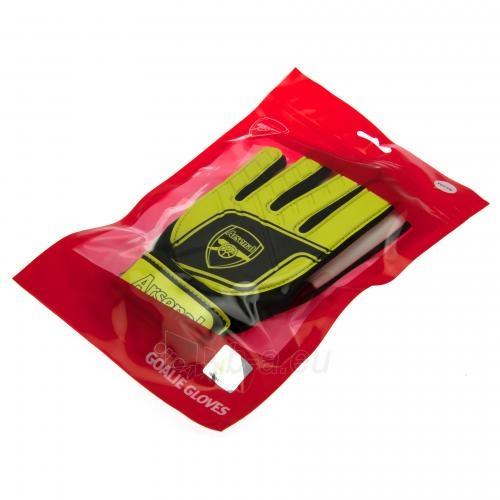 Arsenal F.C. vaikiškos vartininko pirštinės (Geltonos) Paveikslėlis 4 iš 4 251009001048