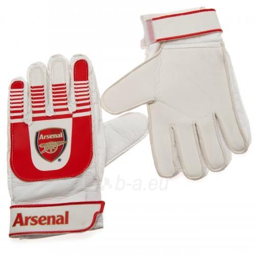 Arsenal F.C. vaikiškos vartininko pirštinės Paveikslėlis 2 iš 3 251009000286