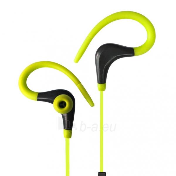 ART Bluetooth ausinės su mikrofonu AP-BX61 lime sport (EARHOOK) Paveikslėlis 1 iš 3 310820026721