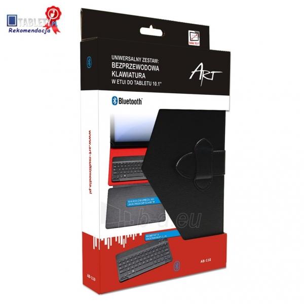 ART dėklas + BLUETOOTH klaviatūra skirta planšetiniams kompiuteriams 10.1 AB- Paveikslėlis 7 iš 7 310820013473