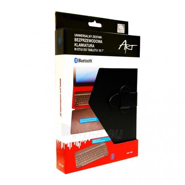 ART dėklas + BLUETOOTH klaviatūra skirta planšetiniams kompiuteriams 8 AB-108 Paveikslėlis 8 iš 8 310820013472