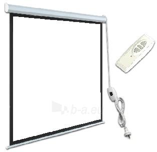 ART Elektrinis projektoriaus ekranas EM-100 16:9 100 221x125cm matinis baltas Paveikslėlis 1 iš 2 30058000060